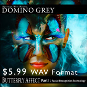 Buy Domino Grey Butterfly Affect Part I $5.99 USD