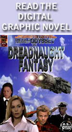 Read the Dreadnaught fantasy Graphic Novel